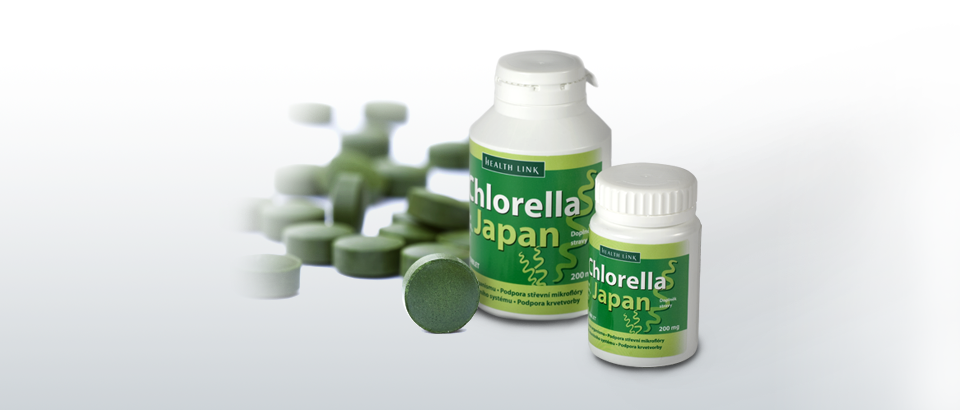 Chlorella Japan 750 tabletiek - Health Link