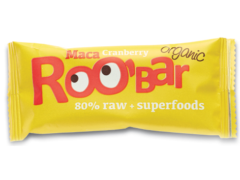 Roobar maca a brusnice RAW BIO 30g x 20ks - Dragon Superfoods