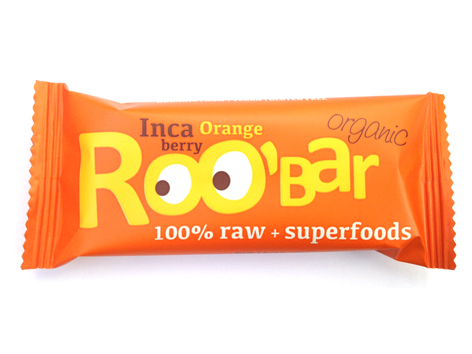 Roobar mochyňa a pomaranč RAW BIO 30g x 20ks - Dragon Superfoods