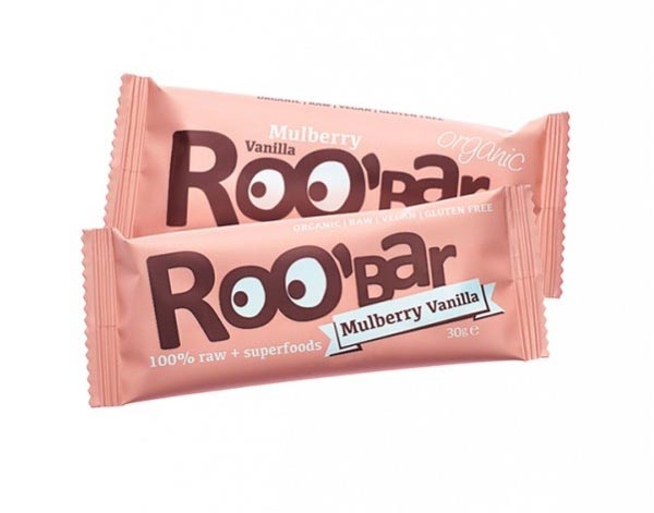 Roobar moruša a vanilka RAW BIO 30g x 20ks - Dragon Superfoods