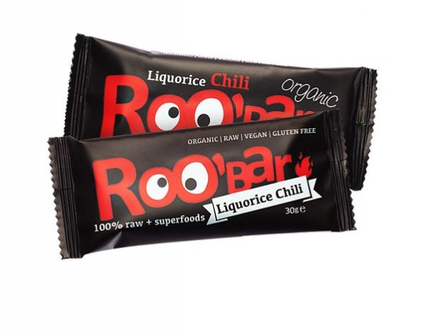 Roobar pelendrek a chilli RAW BIO 30g x 20ks - Dragon Superfoods