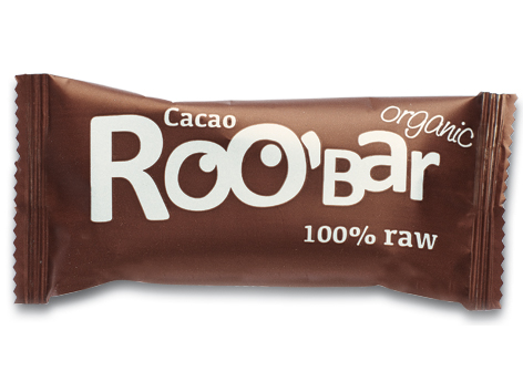 Roobar nepražené kakao RAW BIO 50g x 20ks - Dragon Superfoods