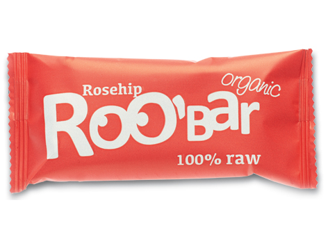 Roobar šípka RAW BIO 50g x 20ks - Dragon Superfoods