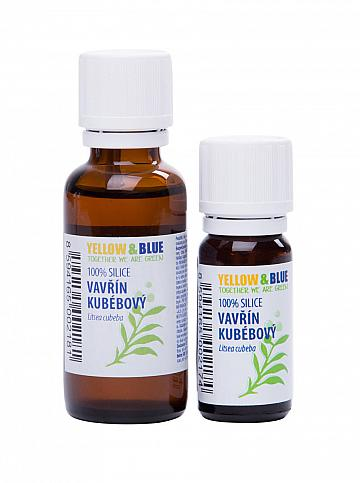 Silica vavrín kubébový 30ml Yellow & Blue