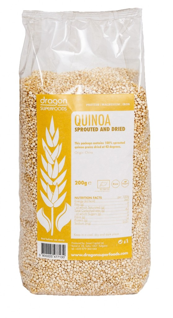 Quinoa klíčky 200g - Dragon Superfoods