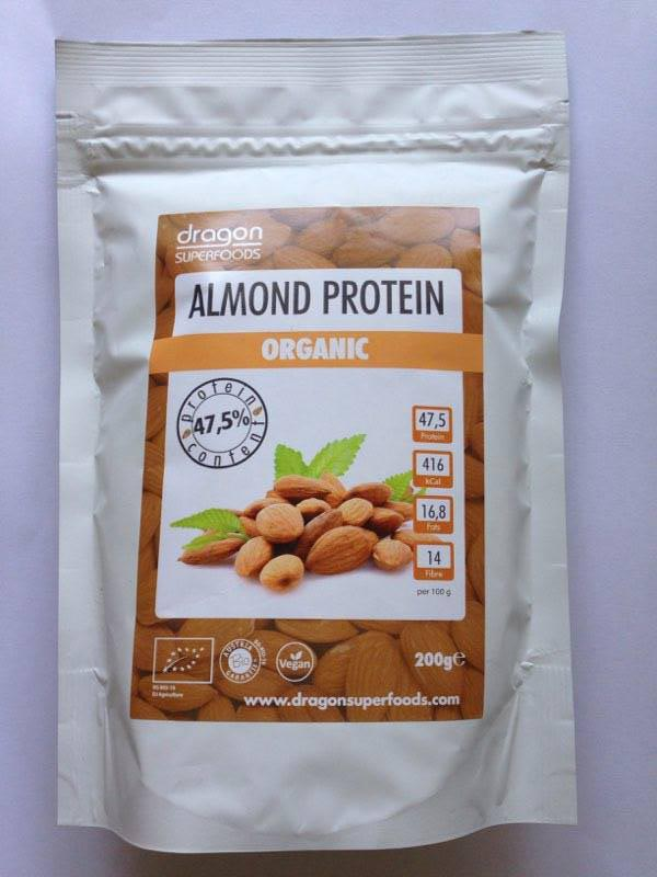 Mandľový proteín BIO RAW 200g - Dragon Superfoods
