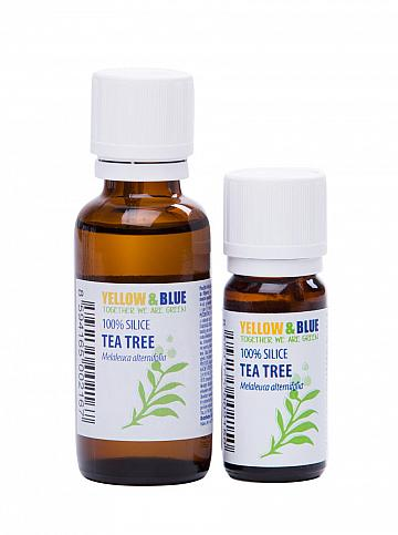Silica tea-tree 10ml Yellow & Blue