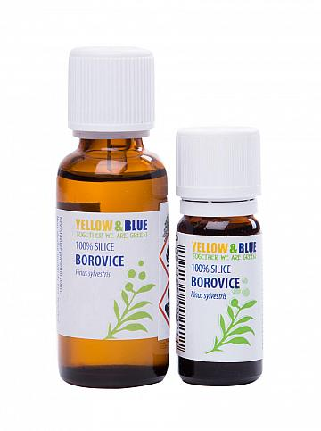 Silica borovica 10ml Yellow & Blue