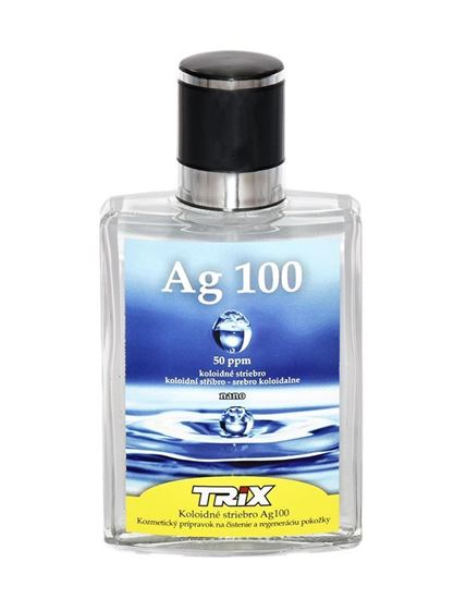 Trix Ag.100 Koloidné striebro 50 ppm spray 100 ml