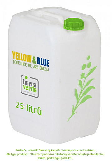 Tierra Verde WC čistič 25l - Yellow & Blue
