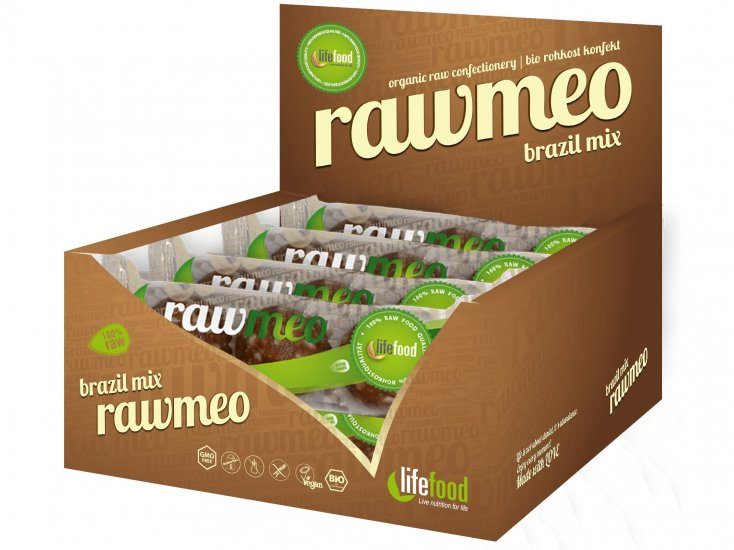 Rawmeo guľôčky tropical mix BIO 66g (3ks), Lifefood