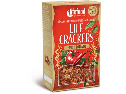 Live crackers mexické BIO RAW 90g, Lifefood