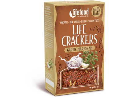 Life crackers á la zemiak BIO RAW 90g, Lifefood