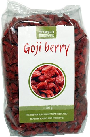 Goji - Kustovnica čínska RAW BIO 100g - Dragon Superfoods